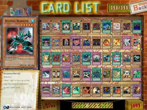download Yugioh power of chaos Joey the passion full card